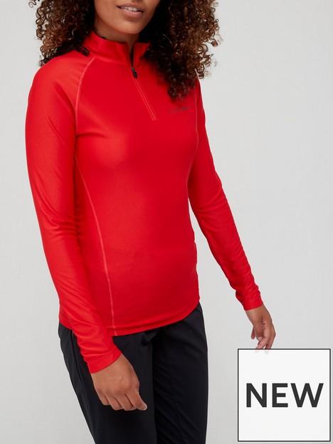berghaus-247-long-sleevenbsphalf-zip-tech-t-shirt-berry