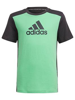 adidas-junior-boys-badge-of-sport-t-shirt-greengrey
