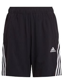 adidas-junior-boys-woven-3-stripes-short-blackwhite