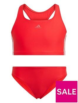 adidas-junior-girls-fit-2-piecenbspswim-redwhite
