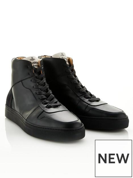 vivienne-westwood-mens-apollo-hi-top-leather-trainers-black