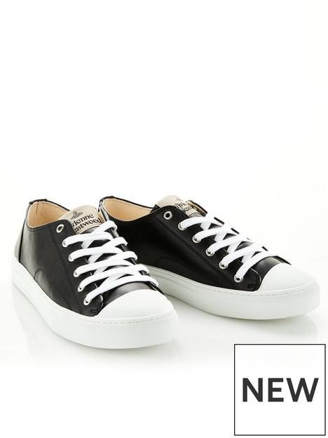 vivienne-westwood-mensnbspeco-leather-trainers-blacknbsp
