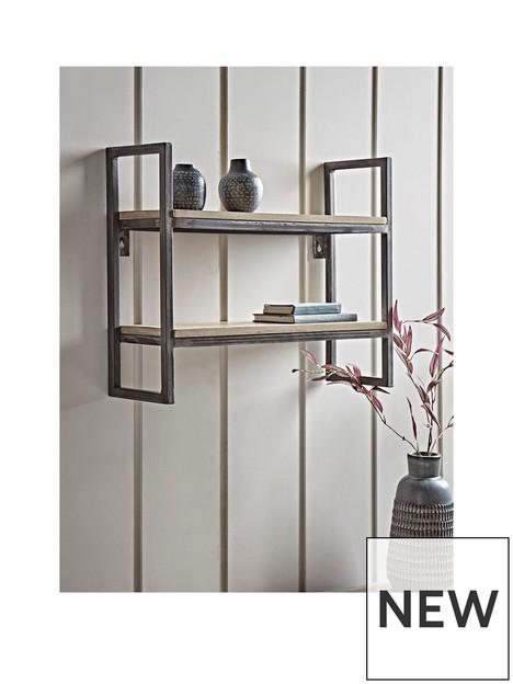 cox-cox-industrial-iron-shelf-unit
