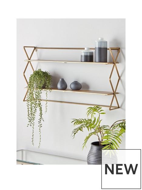 cox-cox-burnished-brass-shelves