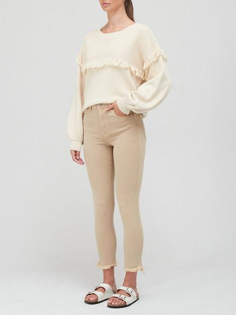 free-people-high-rise-raw-hem-skinny-jeans-sand