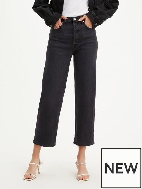 levis-ribcage-straight-leg-ankle-jean-black