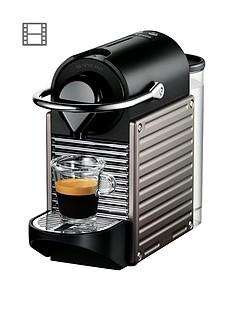 Nespresso XN300540 Pixie Coffee Machineby Krups -Titanium