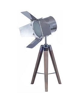 Pacific Lifestyle Hereford Film Tripod Table Lamp