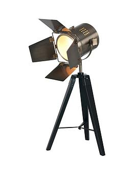 Pacific Lifestyle Hereford Task Tripod Table Lamp