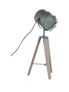 Pacific Lifestyle Bullseye Marine Tripod Table Lamp