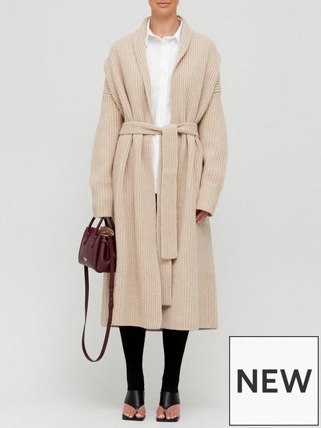 joseph-knitted-cardigan-coat-sand