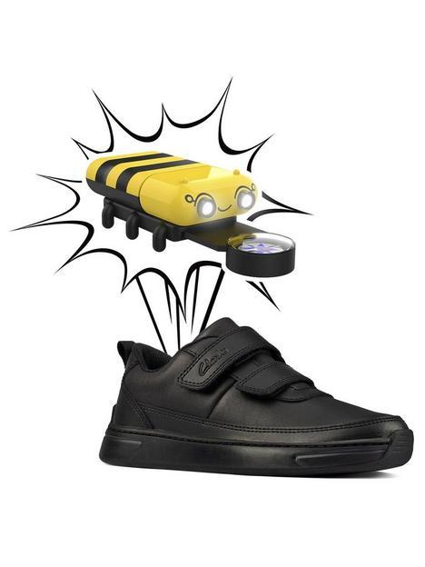 clarks-kids-vibrant-glow-light-up-strap-school-shoe-black