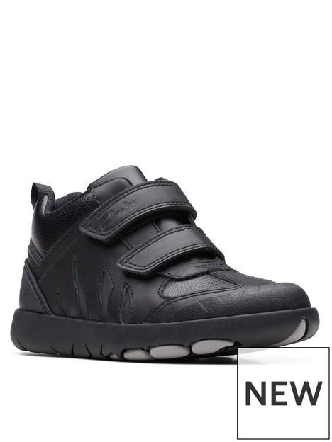 clarks-kids-rex-hop-strap-school-boot-black