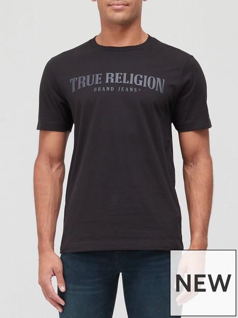 true-religion-arch-font-logo-t-shirt-black