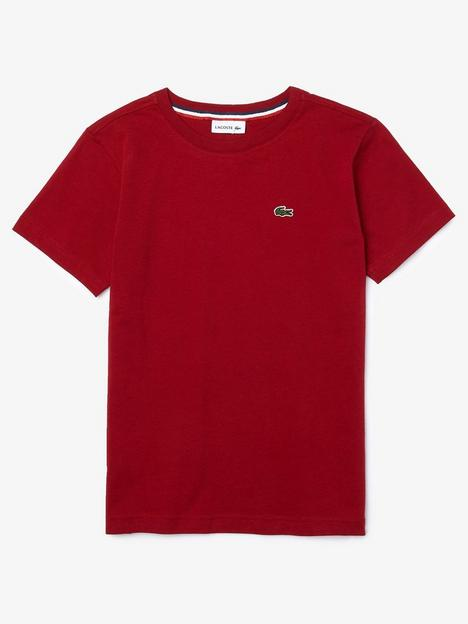lacoste-boys-classic-short-sleeve-t-shirt-dark-red