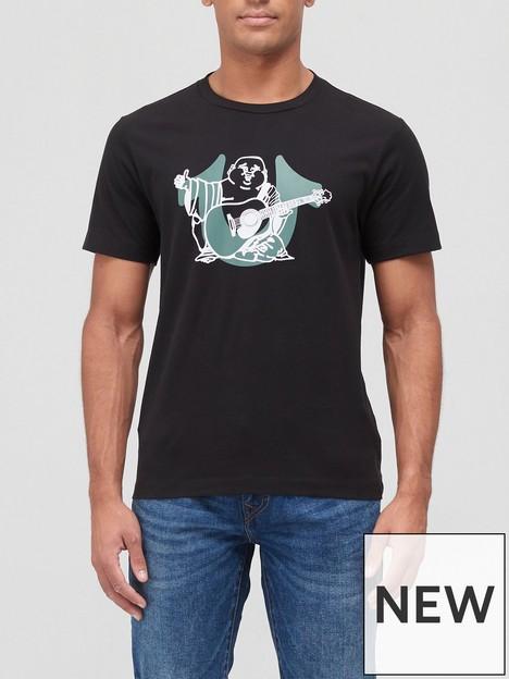 true-religion-buddha-horseshoe-logo-t-shirt-black