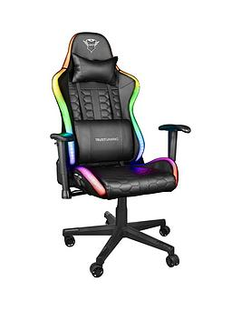 Trust Gxt716 Rizza Gaming Chair - With Rgb Illuminated Edges