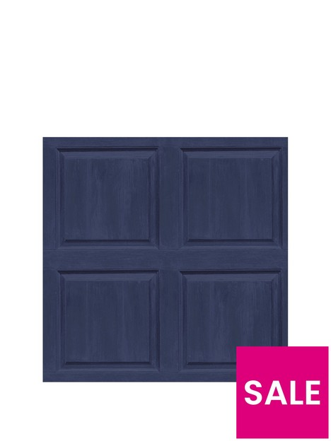 arthouse-arthouse-washed-panel-navy-sw12-wallpaper