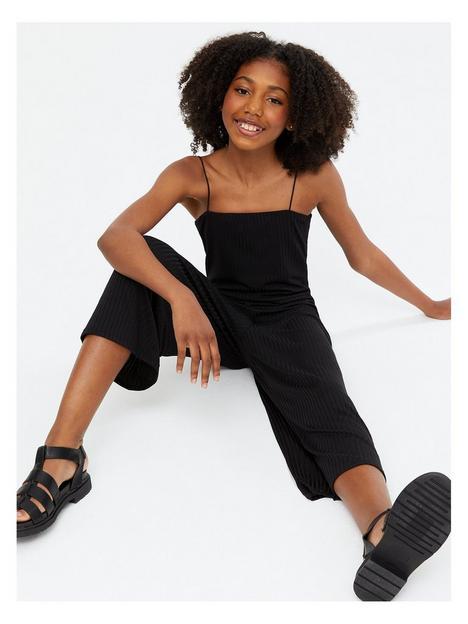 new-look-915-girls-jersey-rib-straight-neck-jumpsuit-black
