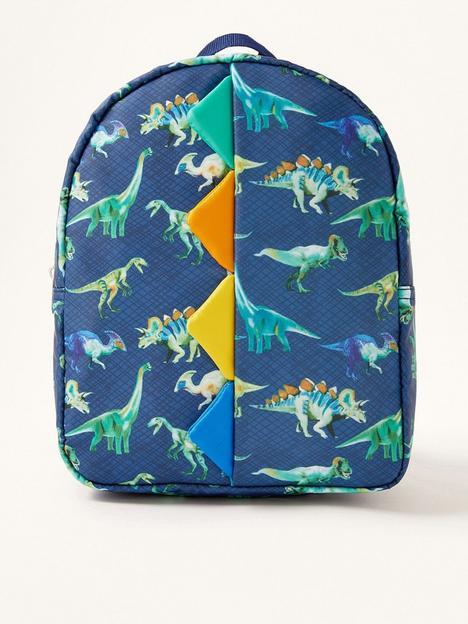 monsoon-boys-dino-print-backpack-navy