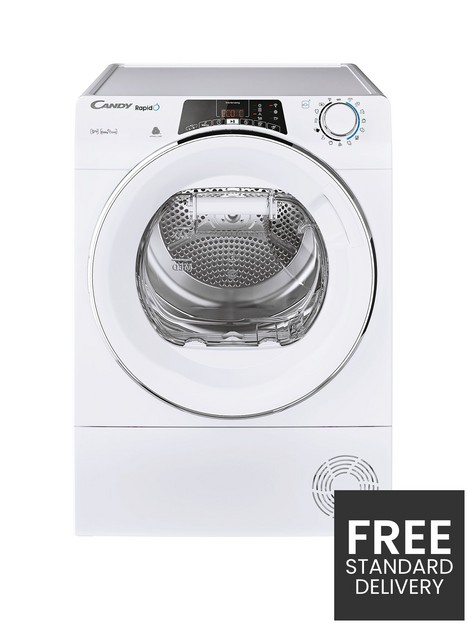 candy-candy-rapido-roe-h9a2tce-9kg-heat-pump-tumble-dryer-white