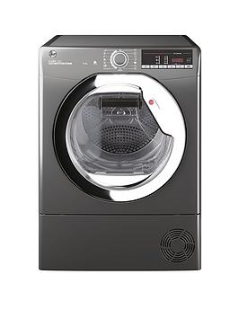 Hoover H-Dry 300 Hle C9Tcer 9Kg Load Condenser Tumble Dryer - Graphite