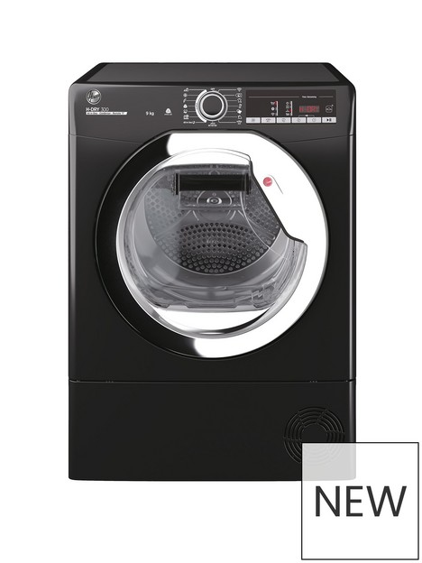 hoover-hoover-h-dry-300-hle-c9tceb-9kg-condenser-tumble-dryer-black