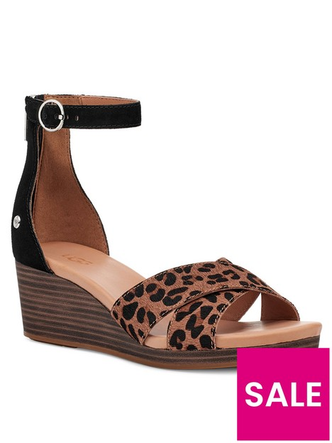 ugg-eugenia-wedge-sandal-leopard