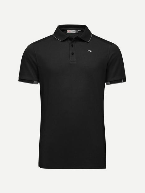 kjus-golf-stan-polo-front-logo