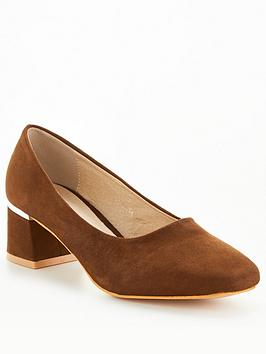 raid-esperanza-wide-fit-heeled-shoes-brownnbsp