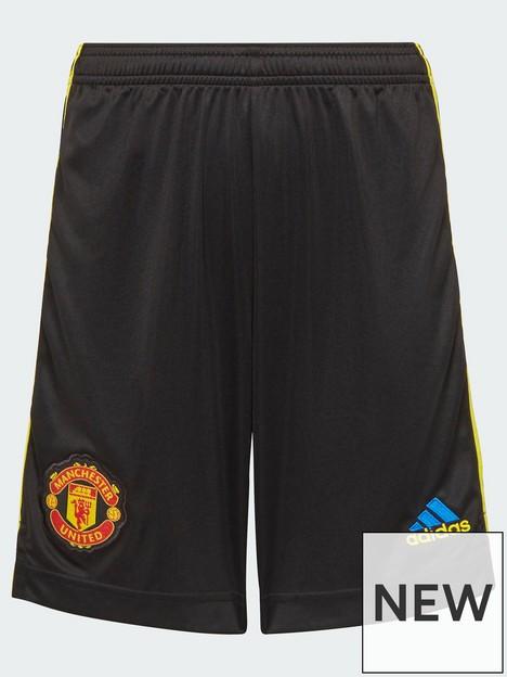 adidas-manchester-united-junior-2223-3rd-short-black