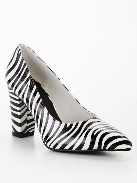 raid-anaiya-wide-fit-heeled-shoes-zebra