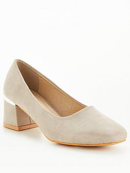 raid-esperanza-wide-fit-heeled-shoes-grey