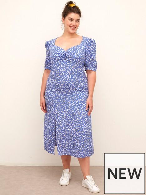 nobodys-child-plus-nobodys-child-plus-rosie-blue-floral-midi-dress