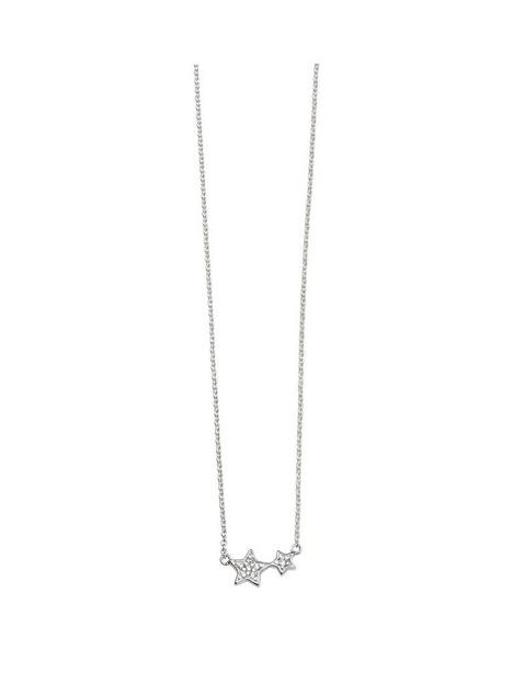 the-love-silver-collection-sterling-silver-star-necklace