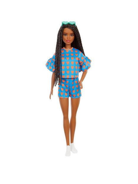 barbie-fashionistas-doll-172-heart-print-top-and-skirtt