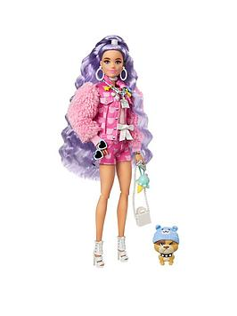 barbie-extra-doll-with-periwinkle-hair-and-teddy-bear-jacket