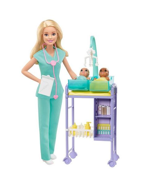 barbie-baby-doctor-doll-and-playset