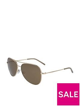 dkny-pilot-sunglasses-brown