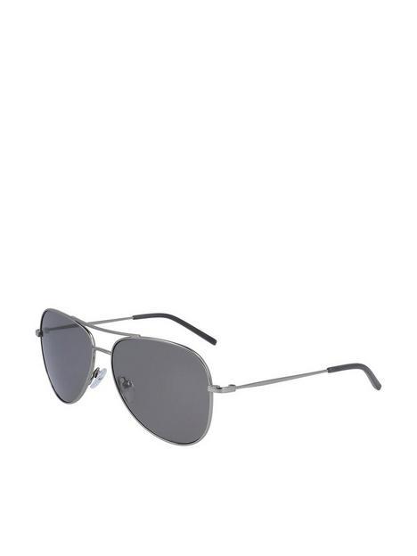 dkny-pilot-sunglasses-gunmetal
