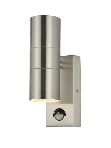 camden-2-light-up-and-down-wall-light-with-pir-sensor-brushed-stainless-steel
