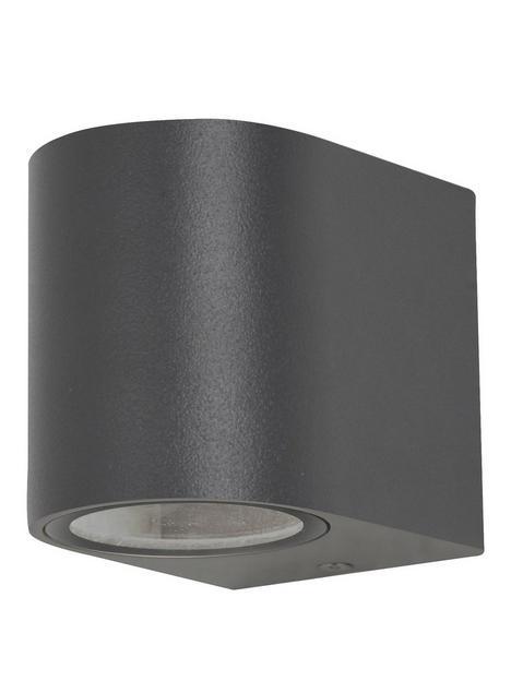 hounslow-1-light-wall-light-textured-black