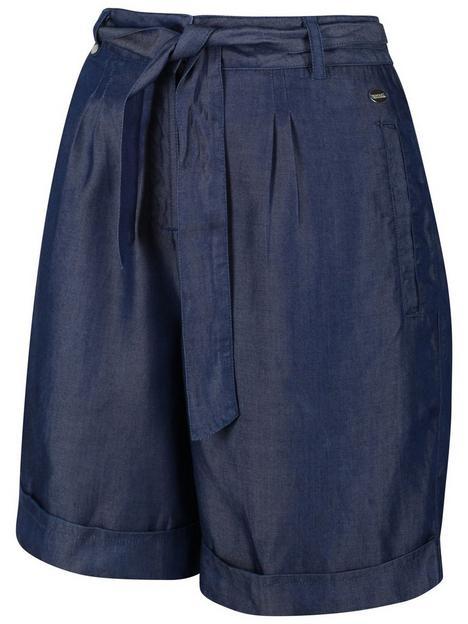 regatta-samira-shorts-chambray