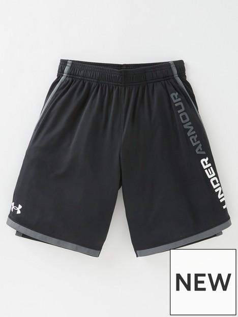 under-armour-stunt-30-shorts-blackwhite