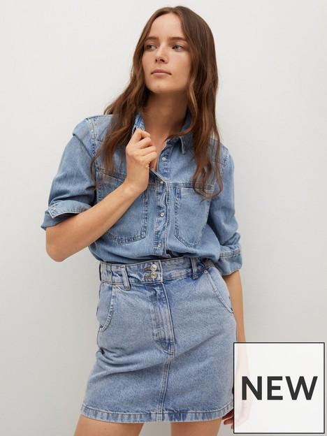 mango-marion-denim-skirt