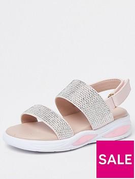 river-island-mini-mini-girls-diamante-bubble-sandal-pink