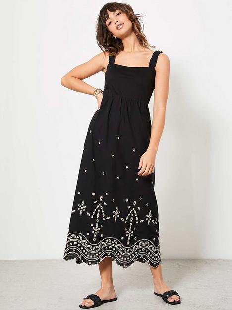 mint-velvet-mint-velvet-embroidered-hem-strap-detail-dress