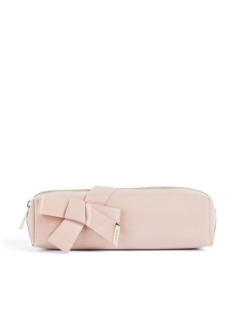 ted-baker-nikara-knot-bow-brush-case-pink