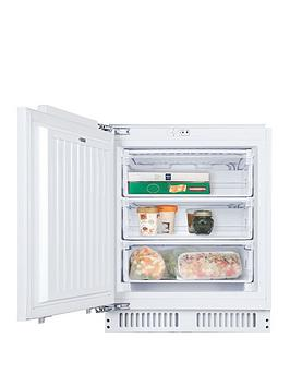 Candy Candy Cfu 135 Nek/N Integrated Undercounter Freezer - Fridge Freezer With Installation Best Price, Cheapest Prices