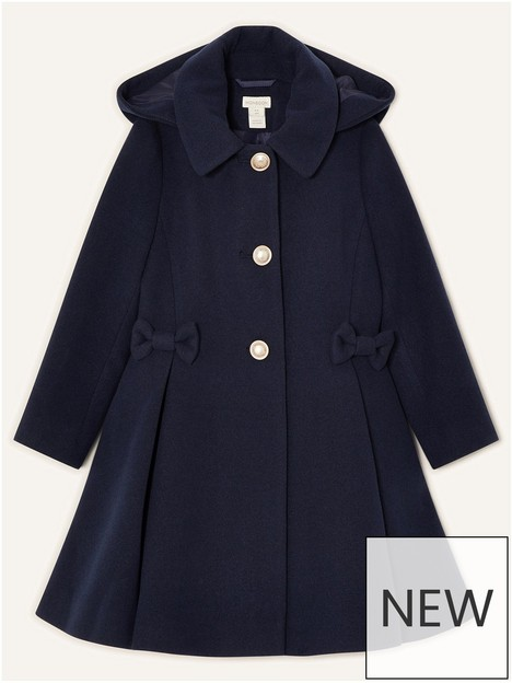 monsoon-girls-sew-bow-coat-with-hood-navy